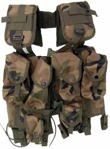 UAG Original Army Surplus USGI US Military Issued Woodland Camo Camouflage Enhanced Load Bearing Tactical Vest