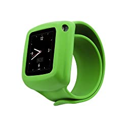 Griffin GB02195 Slap Band Case for iPod Nano 6 (Green)