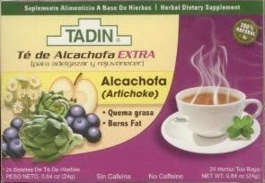 Tadin Artichoke Diet Tea 24 Bag Alcachofa Te By Tadin [Foods]