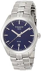 Tissot PR 100 Blue Dial Stainless Steel Quartz Men's Watch T1014101104100