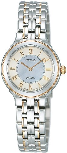 SEIKO (セイコー) 腕時計 DOLCE&EXCELINE ドルチェ&エクセリーヌ エコテックソーラー SWDQ004 レディース