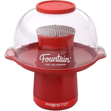 Presto Fountain Hot Air Popper, Red (Presto Hot Air Popcorn compare prices)