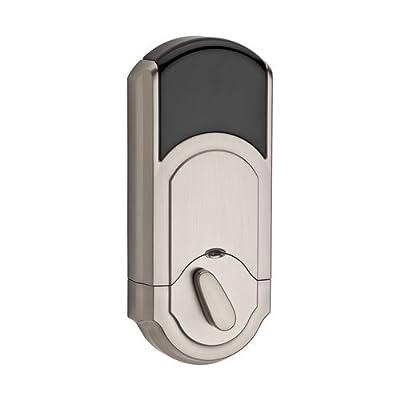 Kwikset Kevo Touch-to-Open Bluetooth Smart Lock in Satin Nickel
