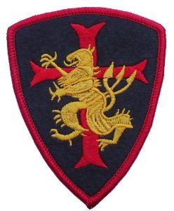 Velcro DEVGRU SEAL TEAM VI Golden Team Crusader Red Cross Lion Patch - by Patch Squad (Devgru Cap compare prices)