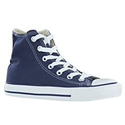 Converse Chuck Taylor HI Navy Womens Trainers Size 8 US