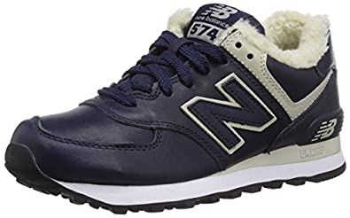 New Balance ML574 D, Unisex-Erwachsene Sneakers, Blau (NV NAVY), 40 EU (6.5 Erwachsene UK)