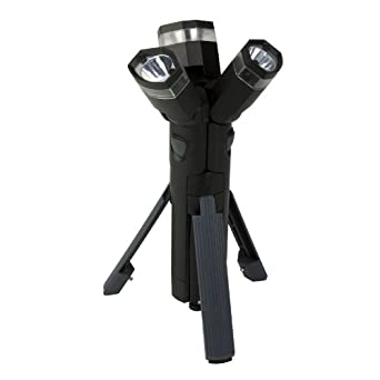 Totes Men's 3 In 1 Flashlight, Black, No Size