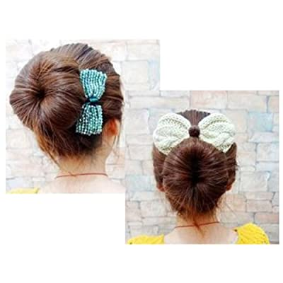Shells 2PCS Cloth Magic Clip French Twist Hairstyle Donut Bun Former Maker Hairstyle Must-haves Tool