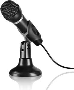Speedlink Capo Desk and Hand Microphone - Black