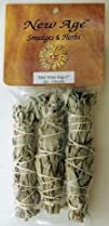 White Sage Smudge Stick 3-Pack RS3WS -