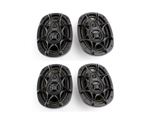 "4) New Kicker Ds693 6X9"" 560W 3-Way Car Audio Coaxial Speakers Stereo 11Ds693"