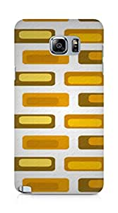 Amez designer printed 3d premium high quality back case cover for Samsung Galaxy Note 5 (Retro2)