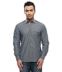 Jogur Blue Color Casual Shirt for Men