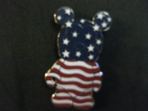 Disney Pin Vinylmation Limited Release American Flag