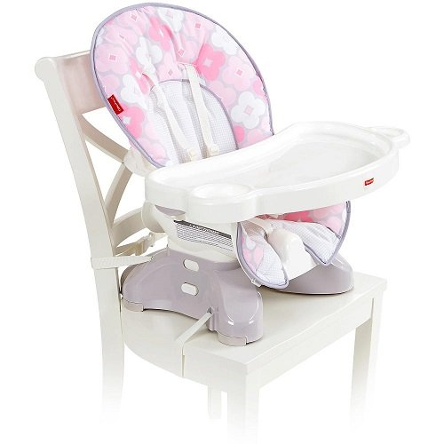 Fisher-Price SpaceSaver High Chair - Petal Pink (High Chair Space Saver compare prices)
