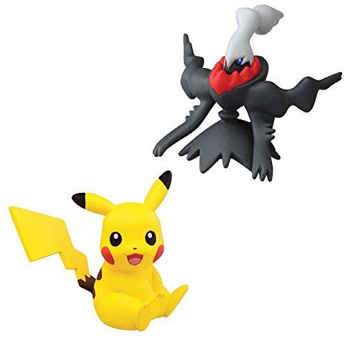 Pokémon 2 Pack Small Figures, Pikachu And Darkrai - 1