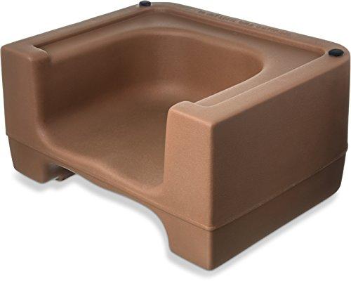 carlisle-711006-plastic-dual-seat-restaurant-style-booster-chair-beige