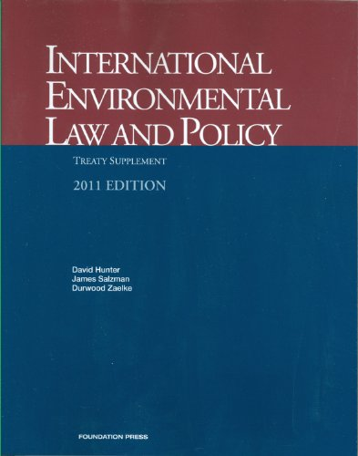 International Environmental Law and Policy, Treaty...