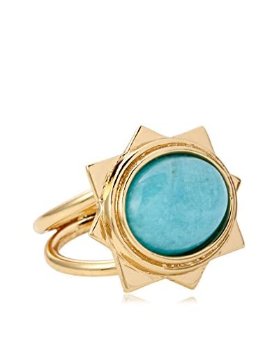 VÖLU Amazonite Star Ring