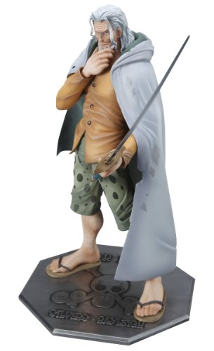 Excellent Model Series P.O.P - Portrait Of Pirates - One Piece Collection NEO-DX Silvers Rayleigh 24.5 cm Tall Figure