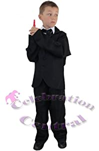 FDC James Bond 007 Men In Black Style Fancy Dress Costume