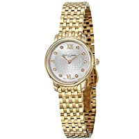 Frederique Constant Women's FC-200WHDS5B Slim Line Yellow Goldtone Stainless Steel Watch by Frederique Constant