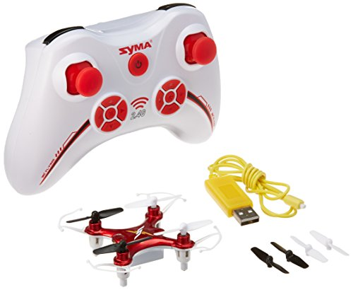 Syma-X12-Mini-Nano-6-Axis-Gyro-4-Channel-RC-Quadcopter-RED
