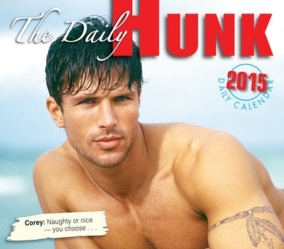 (5x5) Daily Hunk - 2015 Boxed/Daily Calendar