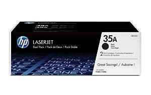 HP LaserJet 35A Print Cartridge - Retail Packaging - Dual Pack - Black
