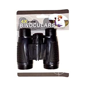 Kids Binoculars Spy Pirates Soldier Army Pretend Play Toy - Black
