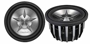 Clarion PXW1252 12-Inch Dual 4 Ohm Voice Coil Subwoofer