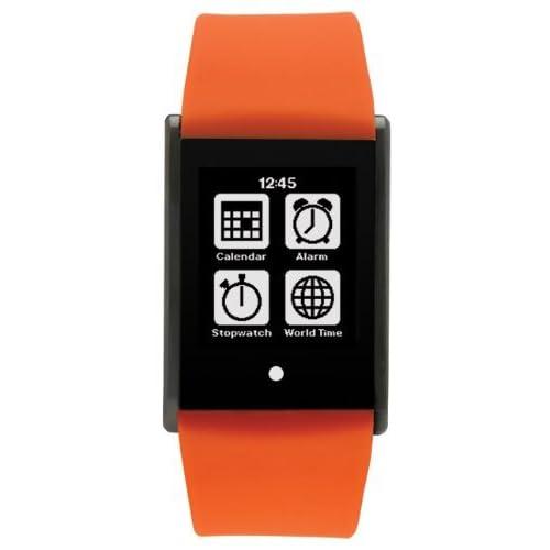 時計 Phosphor Unisex TT01 Touch Time Digital Display Quartz Orange Watch メンズ 男性用 [並行輸入品]