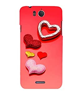 EPICCASE glittering palates Mobile Back Case Cover For InFocus M530 (Designer Case)