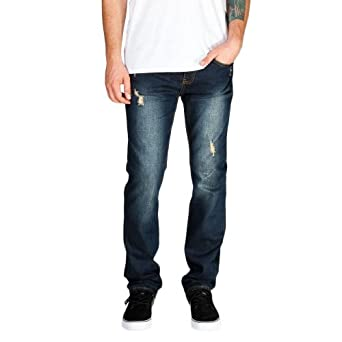 RSQ London Mens Destructed Skinny Jeans