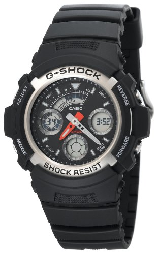 Casio Men's G-Shock Ana-Digi Chronograph Sport Watch #AW590-1A