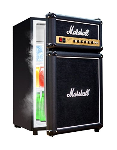 Mini Compact Appliance Marshall Amp Refrigerator with Freezer (Wide Mini Fridge compare prices)