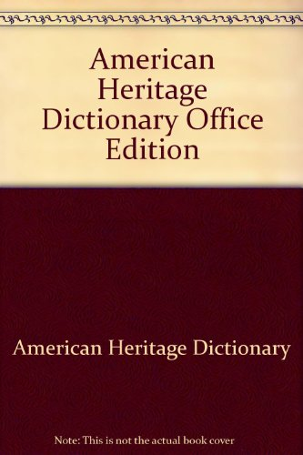American Heritage Dictionary College