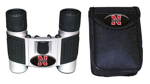 Ncaa Nebraska Cornhuskers High Powered Compact Binoculars With Case