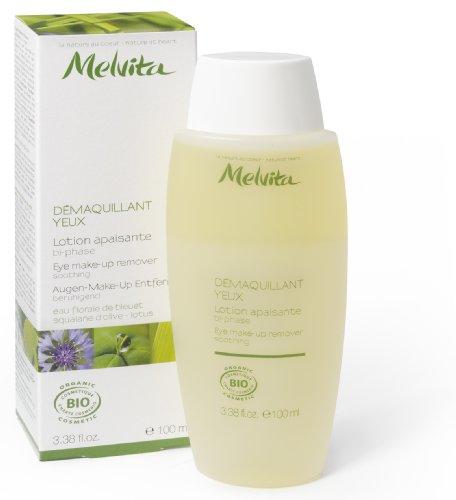 Melvita The Essentials - Eye Make-up Remover, 3.4 fl.oz Bottle