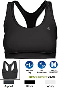 Champion Women's Absolute Workout Sports Bra, Icicle Red, X-Small