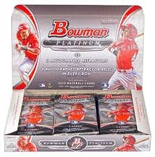 2013 Bowman Platinum Baseball box (20 pk HOBBY) (2013 Bowman Platinum compare prices)