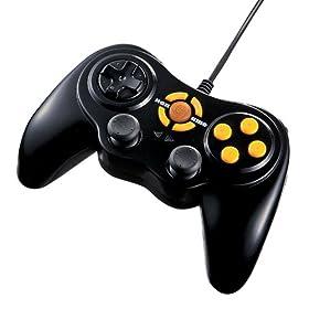 SANWA SUPPLY JY-P-HG1BK ハンゲームパッド ブラック