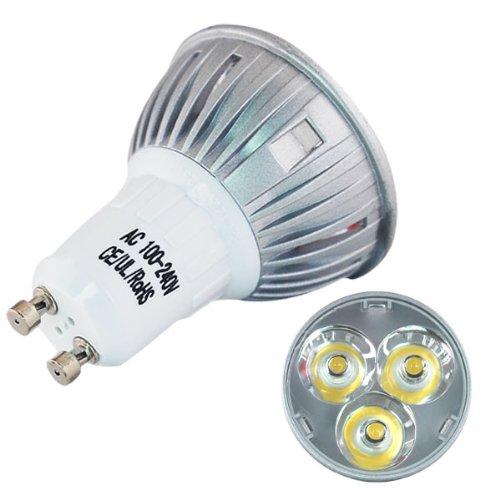 6 X GU10 9 WATT LOW ENERGY COMPACT LAMP LONGER THAN STANDARD GU10 BARGAIN NEW