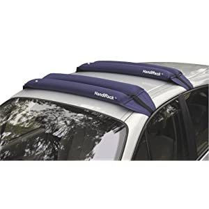Click to read our review of Malone HandiRack Inflatable Universal Roof Top Rack and Luggage Carrier