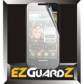 5-Pack EZguardZ Samsung Galaxy S Fascinate i500 Screen Protectors (Ultra CLEAR)(EZguardZ Packaging)