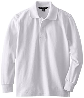 Brooks brothers little boys 39 uniform long sleeve pique for Brooks brothers boys shirts