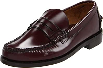 Sebago Classic Penny Loafer Antique Brown Mens Loafers Size 7.5 Uk