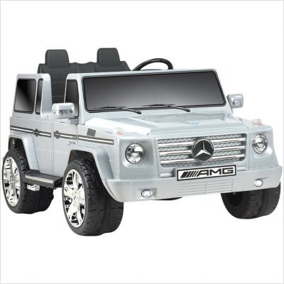 Big Toys Npl-0592 Mercedes Benz G55 Truck 12v in Gray