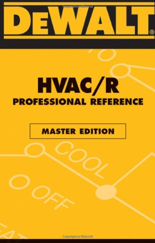 DEWALT HVAC Professional Reference - Master Edition - DEWALT - DE-0977000389 - ISBN: 0977000389 - ISBN-13: 9780977000388