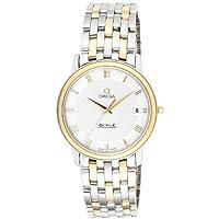 [オメガ]OMEGA 腕時計 デ・ビル シルバー文字盤 K18YG/ステンレスケース 4310.32 メンズ 【並行輸入品】